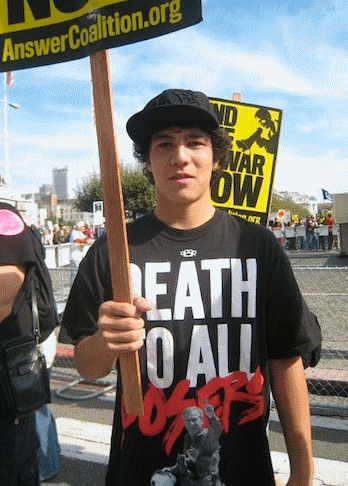 liberalprogressivecommunist wannabes lol protests to kill bush